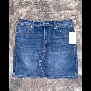 Free people jean skirt / Brand New With Tags